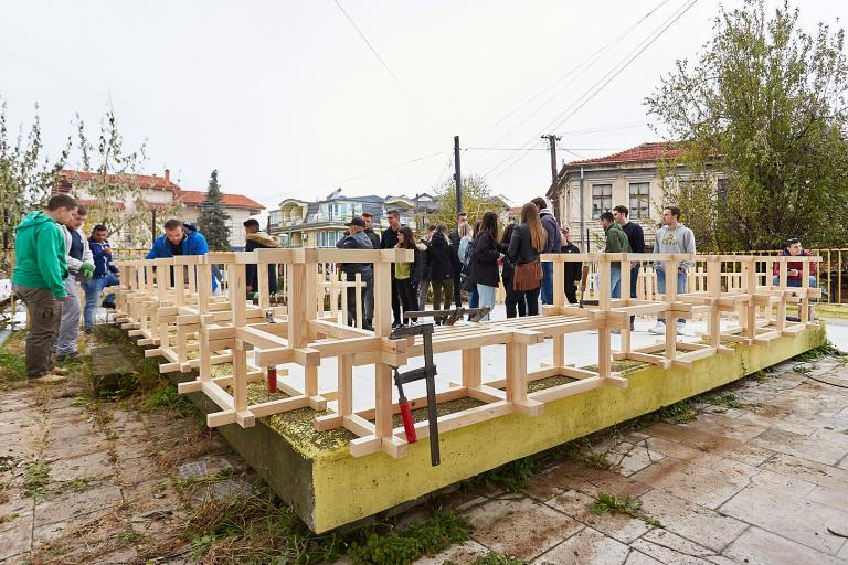 Meleem Project URBAN MODULAR Prilep Macedonia Architect Sara Simoska